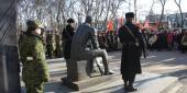 Фото с места события собственное. Желающих почтить память воинов-интернационалистов собралось очень много. Автор фото: Анастасия Голованушкина. 4 из 9