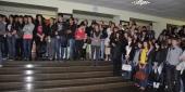 Фото с места события собственное. Студенты и преподаватели колледжа. Автор фото: Анастасия Голованушкина. 2 из 11